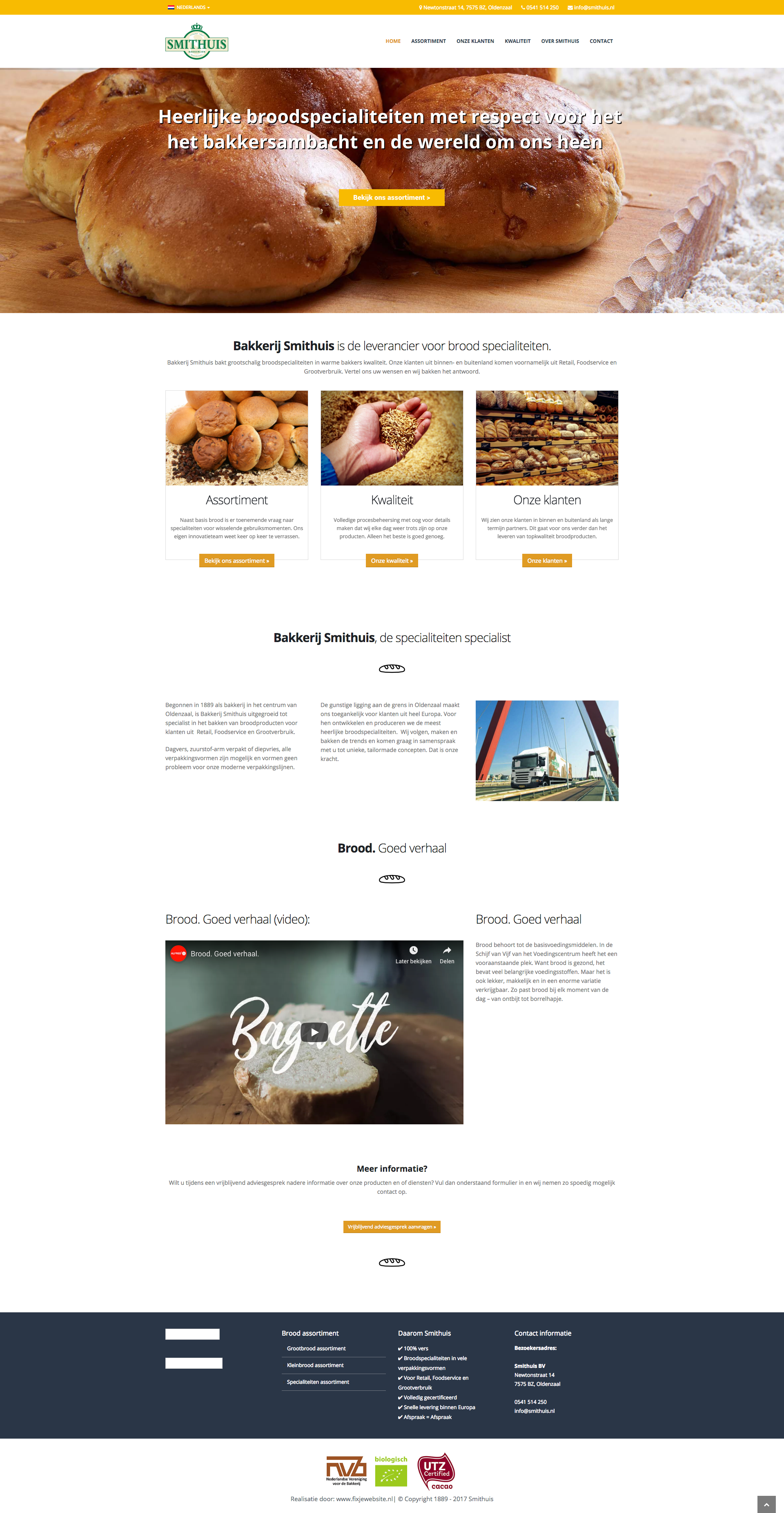 Website Smithuis